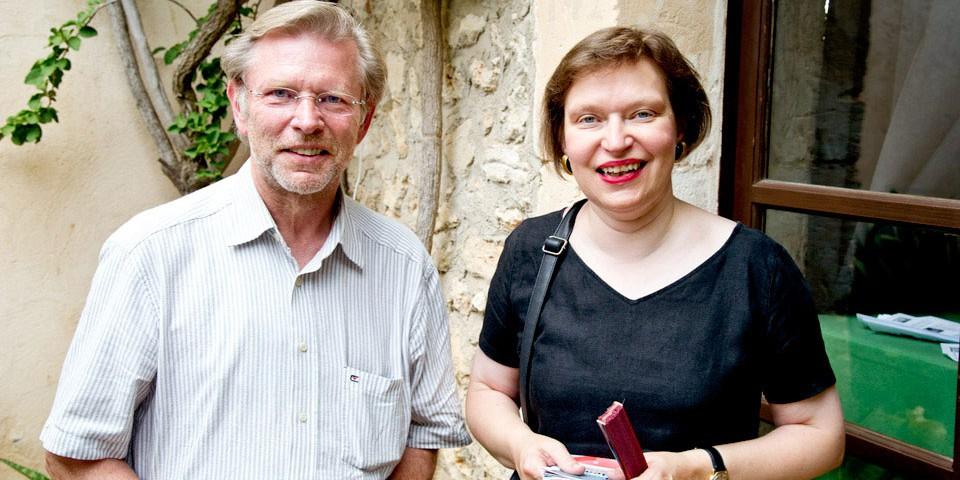 Norbert Schäfer und Regina Lochner