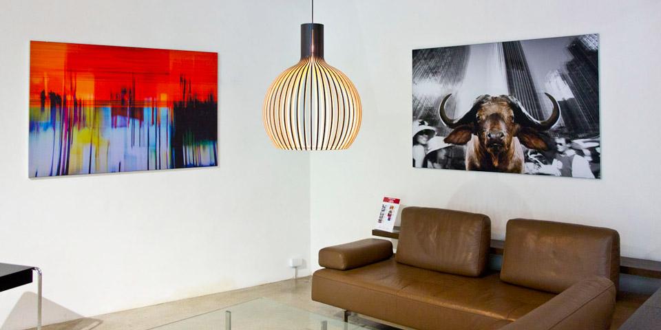 PhotoArt trifft Wohnkultur - Norbert Schäfers PhotoArt in den Räumlichkeiten von KINKU